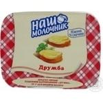 Продукт сырный Наш Молочник Дружба плавленый пастообразный 55% 180г пластиковый стакан Украина
