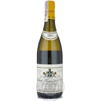 Вино Лефлейв белое сухое 13.5% 2002год 750мл стеклянная бутылка Bordeaux Франция