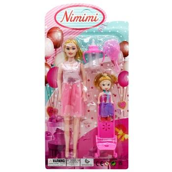 Набор игровой Зед Куклы с коляской - купить, цены на ЕКО Маркет - фото 1