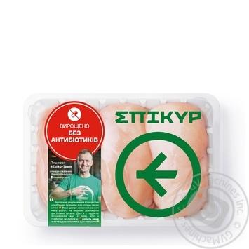 Філе Epikur курчати-бройлера охолоджене вагове (великий лоток) - купити, ціни на Novus - фото 1