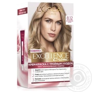 Крем-фарба для волосся L'Oreal Paris Excellence Legends 8.12 містичний блонд - купити, ціни на Novus - фото 1