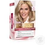 Крем-краска для волос L'Oreal Paris Excellence светло-русый пепельный №9.1