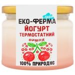 Eco-Farm Divo Cherry Thermostatic Yogurt 2,5% 270g