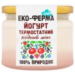 Йогурт Эко-Ферма Диво ягодный микс термостатный 2,5% 270г