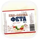 Eco-Farm Divo Feta Soft Cheese 45% 150g