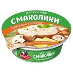 Закуска з сиром Тульчинка Смаколики смажені грибочки 55% 90г
