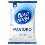 Bila liniya Ultrapasteurized Milk 2,5% 900g