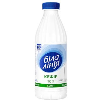 Bila Liniya Kefir 1% 840g - buy, prices for Auchan - photo 1
