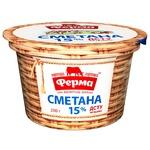 Sour cream Ferma 15% 200g