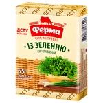 Сыр плавленый Ферма с зеленью 55% 90г