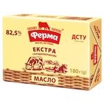 Масло Ферма Экстра сладкосливочное 82,5% 180г
