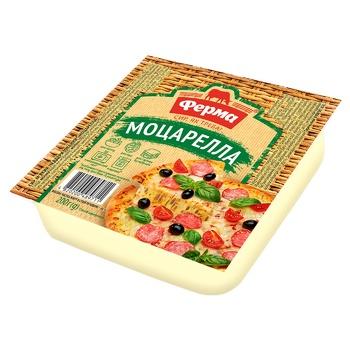 Сыр Ферма Моцарелла мягкий 45% 200г - купить, цены на Varus - фото 1