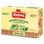 Масло Ферма Вологодское сладкосливочное 82,5% 180г