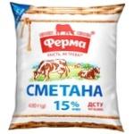 Ferma Sour Cream 15% 400g