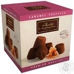 Конфеты Chocolate Inspiration Французские трюфели шоколадные с подсоленными карамельными хлопьями 200г