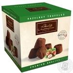 Цукерки Chocolate Inspiration Французькі трюфелі зі шматочками лісового горіха 200г