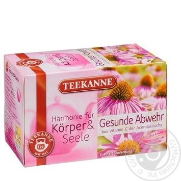 Чай травяной Teekanne Защита иммунитета 20шт 40г