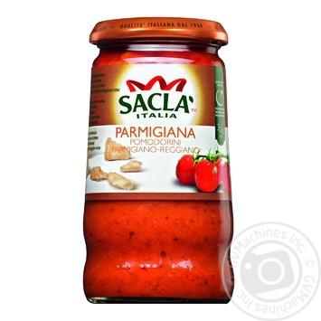 Соус Sacla Італійський з помідорами черрі та сиром Пармезан 350г
