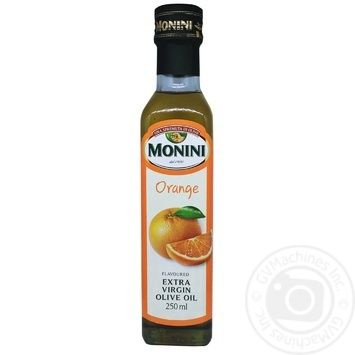 Масло оливковое Monini первого холодного отжима с апельсином 250мл