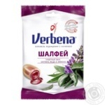 Verbena Salvia with herbs, sage and vitamin C lollipops 60g