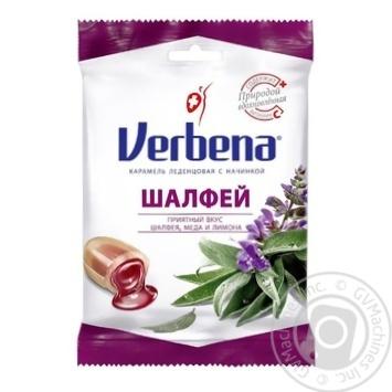 Verbena Salvia with herbs, sage and vitamin C lollipops 60g