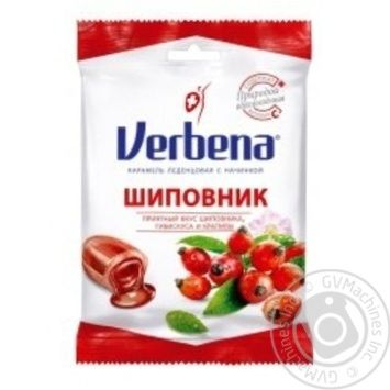 Verbena Rosehip and vitamin C lollipops 60g - buy, prices for Novus - image 1