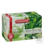 Чай травяной Teekanne Свободное дыхание 20шт 40г