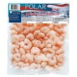 Креветки Polar Star очищенные варено-мороженые 400г - купить, цены на Ашан - фото 1