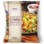 Суміш овочева Лімо Мексиканська суміш заморожена 400г - купити, ціни на Фуршет - фото 1