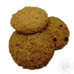 Печенье сдобное овсяное с изюмом