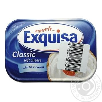 Сир Exquisa вершковий классік Fidm 70% 200г - купити, ціни на Фуршет - фото 1