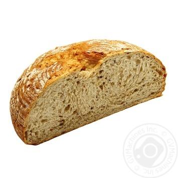 Хліб цільнозерновий 1/2 350г - купити, ціни на Фуршет - фото 1