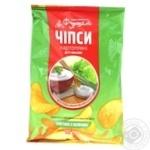 Чипсы картофельные Сметана/зелень Фуршет 50г