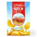 Чипсы картофельные Краб Фуршет 50г