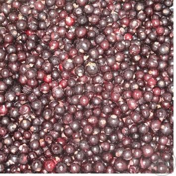 ягода смородина Лесная звезда черное замороженная Украина