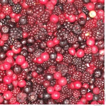 ягода Лесная звезда ягодные с ягодами замороженная Украина