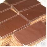 Печенье Каравай Сонет бисквит с шоколадом 300г в упаковке Украина