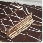 Печиво Коровай Сонет бісквіт какао-молоко 650г в упаковці Україна