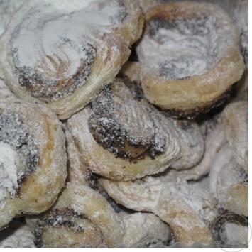 Печенье Сава мак 250г в упаковке Украина