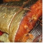 Fish trout Samyi smak hot-smoked Ukraine