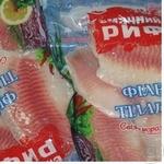 Филе тилапия Смачный риф замороженная 600г вакумная упаковка Украина