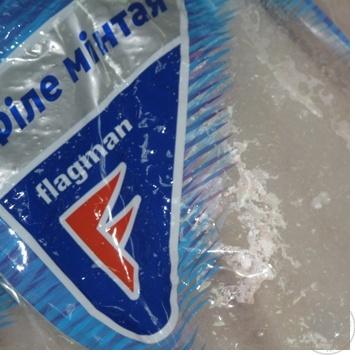 Филе минтая Флагман свежемороженое вакуумная упаковка Украина