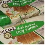 Toast bread Dan Cake three grains 500g Poland
