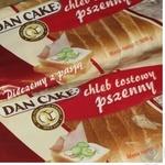Bread Dan cake wheat cutting for toasts 500g Poland