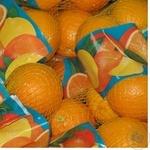 Апельсин в сетке