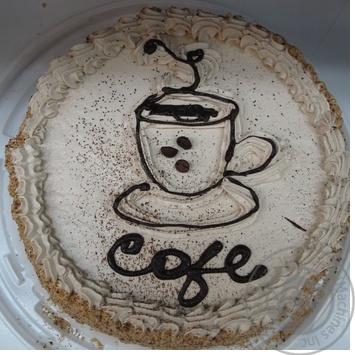 Торт Народный Кофейный аромат бисквит Украина