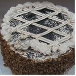 Торт Народный бисквит маково-ореховый Украина