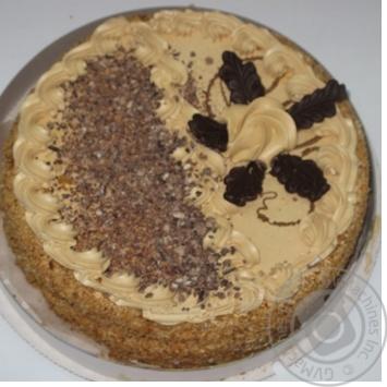 Торт Маріам Медовий із збитими вершками 1кг - купить, цены на Novus - фото 1