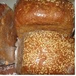Хлеб ржано-пшеничная кунжут 400г Украина
