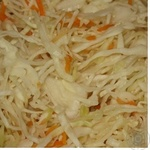 Salad cabbage Olvita carrot with carrot pickled Ukraine